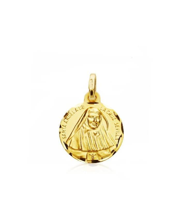 Medalla Sta. Ángela de la cruz S