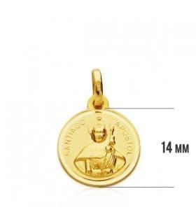 Medalla Santiago Apóstol S