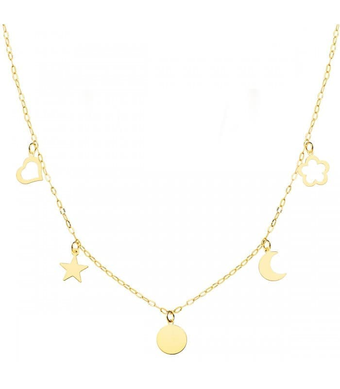Collar Mujer Dream Oro Amarillo 18K 42 cm