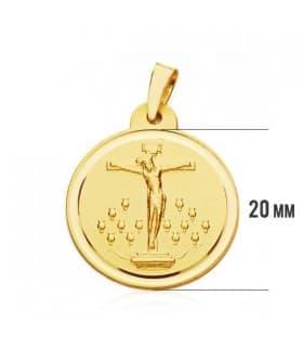 Medalla Cristo de la Laguna XL