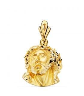 Colgante Cristo Murillo Oro Amarillo 18K 21 mm