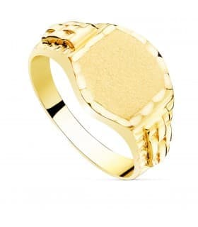 Sello caballero Francesco Oro 18K macizo