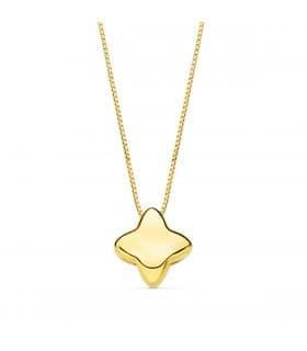 Gargantilla Olimpia oro amarillo 18K Estrella