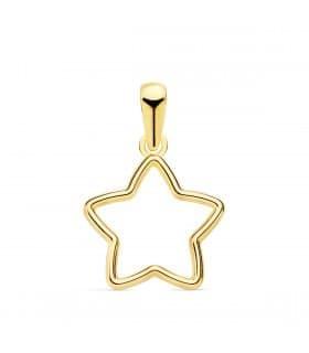 Colgante Suli Oro Amarillo 18k Estrella