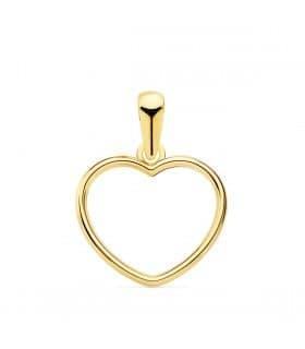 Colgante Suli Oro Amarillo 18k Corazón