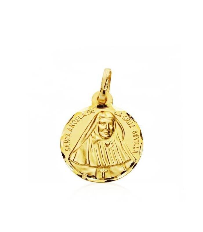 Medalla Sta. Ángela de la cruz M
