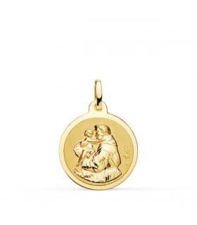 Medalla San Antonio 18 Ktes L