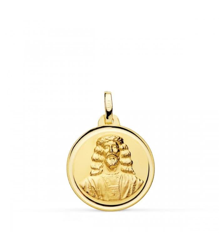 joyas online - Medalla Cristo Medinaceli Colgante oro 18 kilates