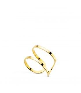 Pendiente Sand Ear Cuff Oro 18K
