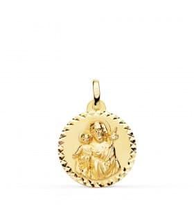 Medalla San José 18 Ktes XL