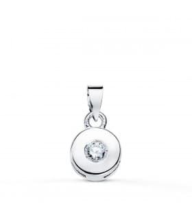 Colgante Chatón Diamante 0.050 Qtes. OB 18K