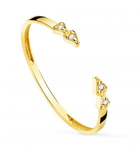 Anillo Crawford Oro 18K Diamantes 0.032 Qts.