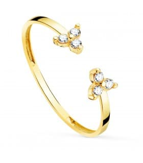 Anillo Connor Oro 18K Diamantes 0.090 Qts.