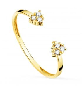 Anillo Harrington Oro 18K Diamantes 0.048 Qts.