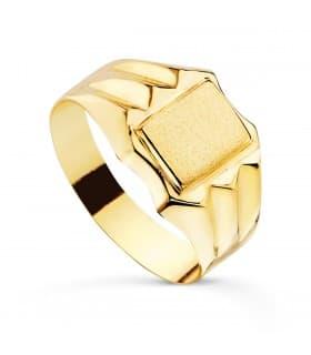 Sello cadete Thiago Oro Amarillo 18K