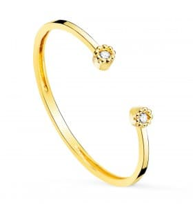 Anillo Kelly Oro 18K Diamantes 0.016 Qts.