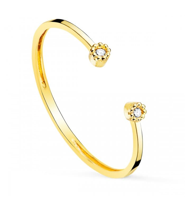Anillo Kelly Oro 18K Diamantes 0.016 Qts.