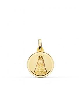 Medalla Virgen de los Desamparados 18 Ktes 16mm