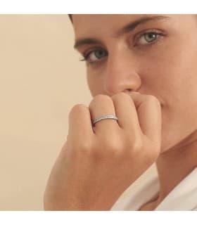 Alianza Stefano 2 mm 18 Ktes | anillos de boda | argolla de moda - alianzas de oro blanco
