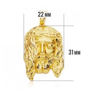 Cabeza Cristo 31x22mm