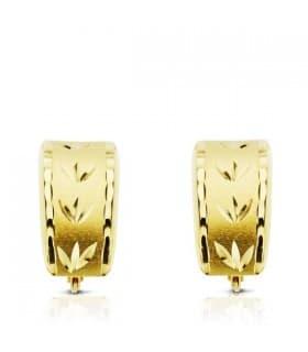 Pendiente oro amarillo Lucrecia