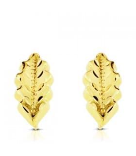 Pendiente oro amarillo Catalina