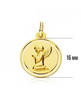 Medalla Angelito bisel