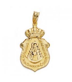 Medalla escudo Virgen del Rocío