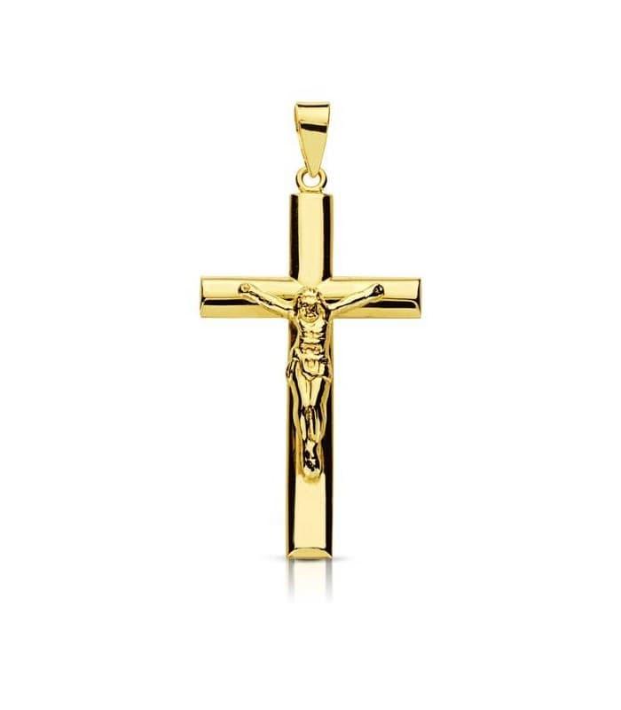 Cruz Cristo palo oval