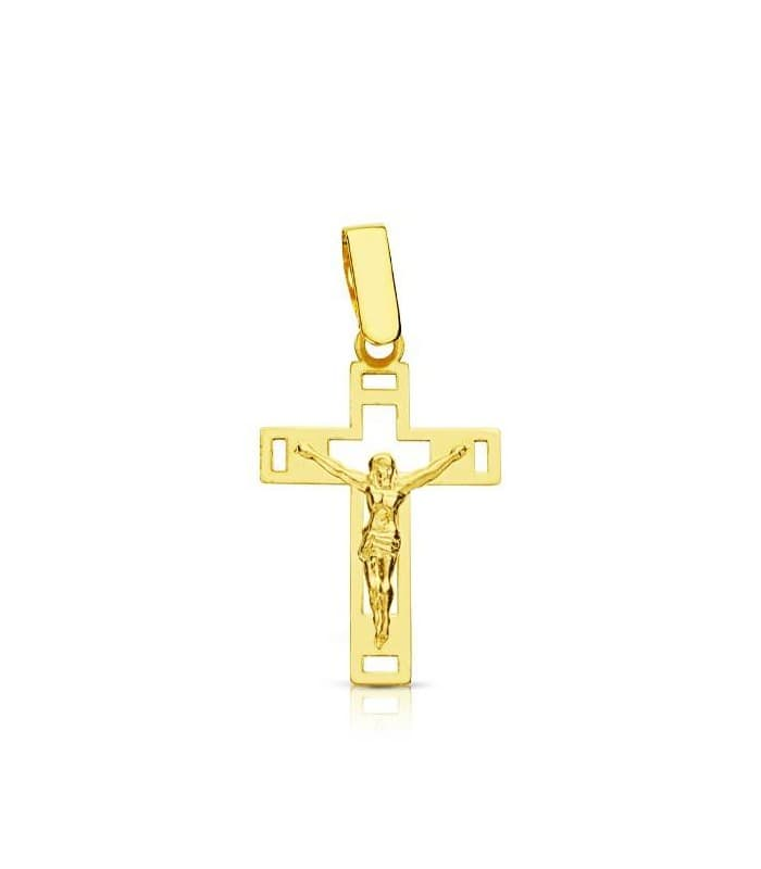 Cruz Cristo calada