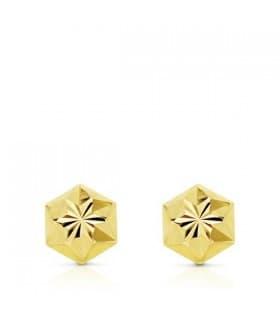 Pendiente oro amarillo Nolya 18 Ktes