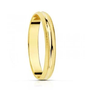 ALIANZA BAJO MATIZ anillo de boda compromiso grabado joyeria online
