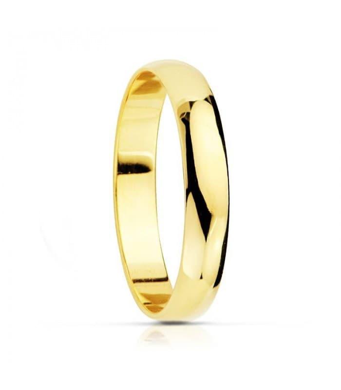 ALIANZA CLÁSICA 3.5MM. anillo de boda compromiso grabado joyeria online