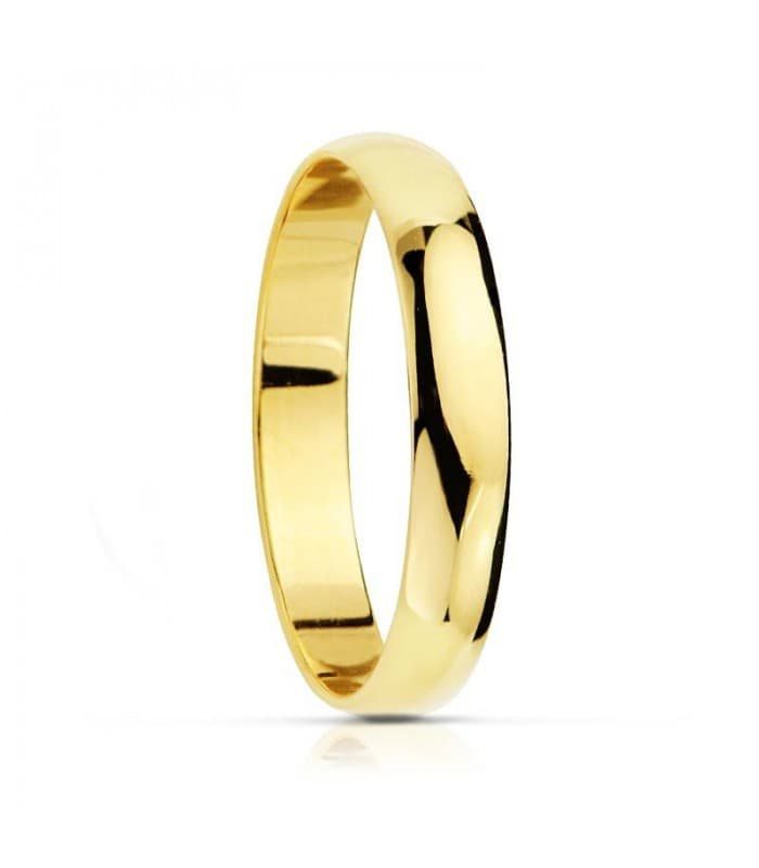 Alianza clásica oro 9ktes 3 mm