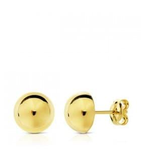 Pendientes oro amarillo Emma 7.5 mm 18 Ktes