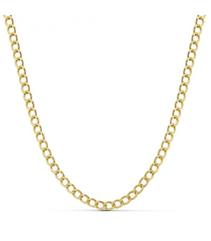 f13add0e2f34 Cadena oro amarillo de 18 kilates Barbada 4.5 mm.