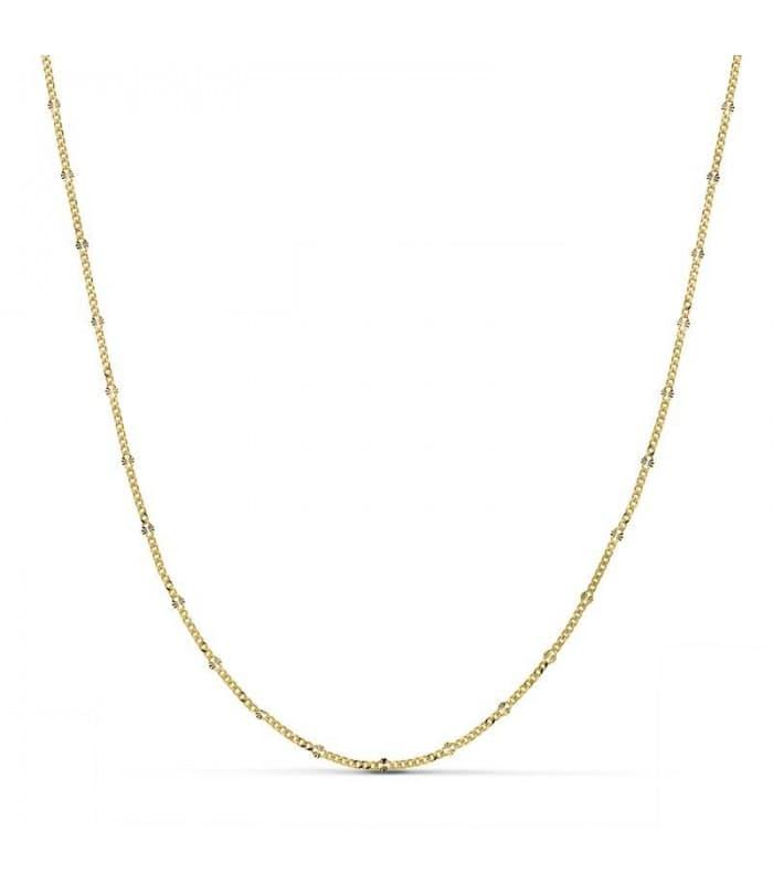 Cadena Diamantada 1.5 mm 18 Ktes 45 cm