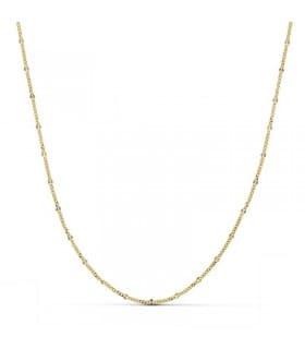Cadena Diamantada 1.5 mm 18 Ktes 50 cm