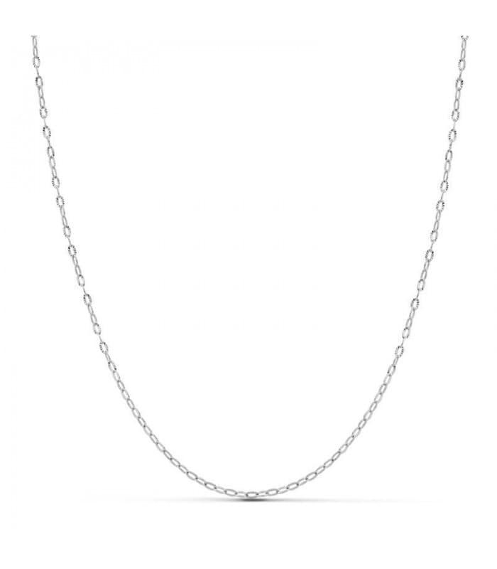 Cadena OB Diamantada 1.5 mm 18 Ktes 45 cm