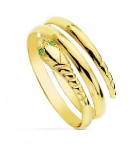 Sortija oro amarillo Sonia 18 Ktes
