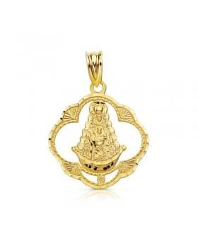Médaille Notre Dame du Rocio 18K 22mm