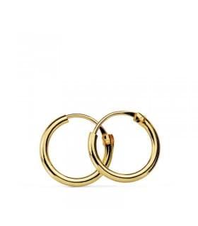 Pendientes aro de oro amarillo Melisa 10mm 18 Ktes