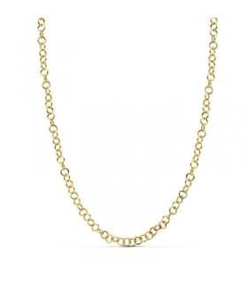 Cadena gargantilla collar oro 18k slim