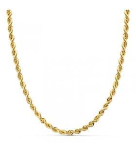 Cordón Salomónico Ligero Oro amarillo 18k 60cm