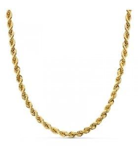Cordón Salomónico ligero Oro amarillo 18k 60cm 4mm