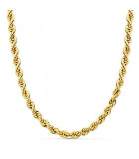 Cordón Salomónico Ligero Oro amarillo 18k 60cm 5mm