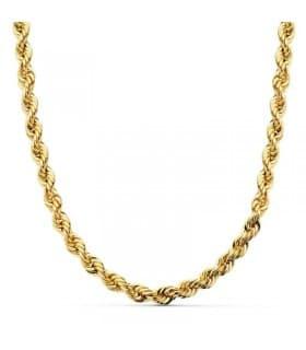 Cordón Salomónico Ligero Oro amarillo 18k 60cm 5,5mm