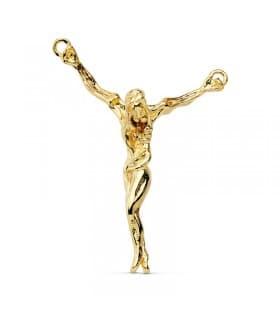 Colgante Cristo de Dalí Oro amarillo 18K 38 mm