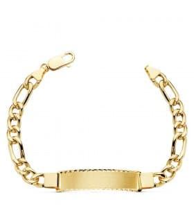 Esclava Caballero Cartier Oro 18 K