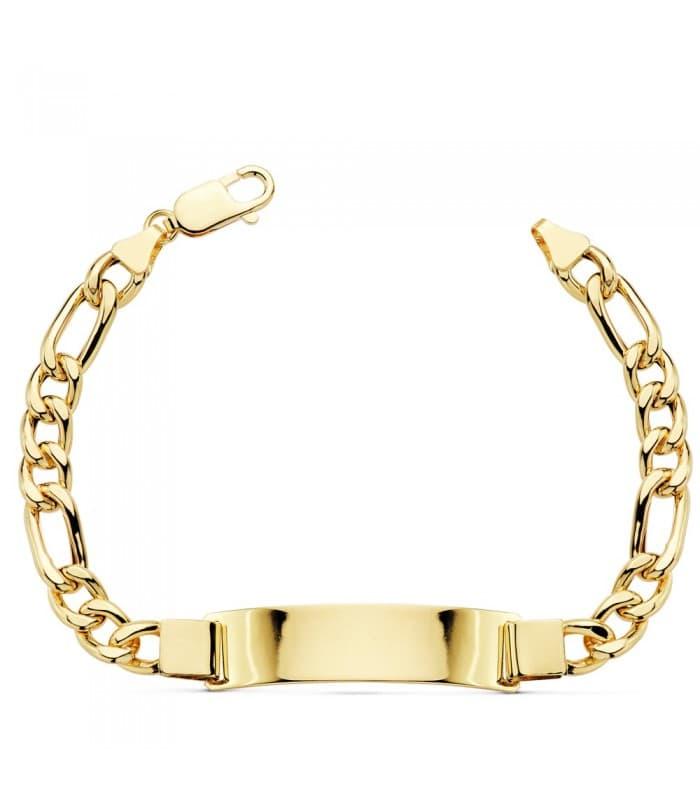 Esclava Caballero Cartier Brillo Oro 18 K